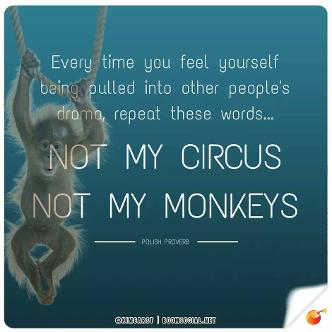 Not My Circus, Not My Monkeys!