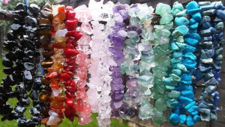 Reiki Charged Gemstone bracelets